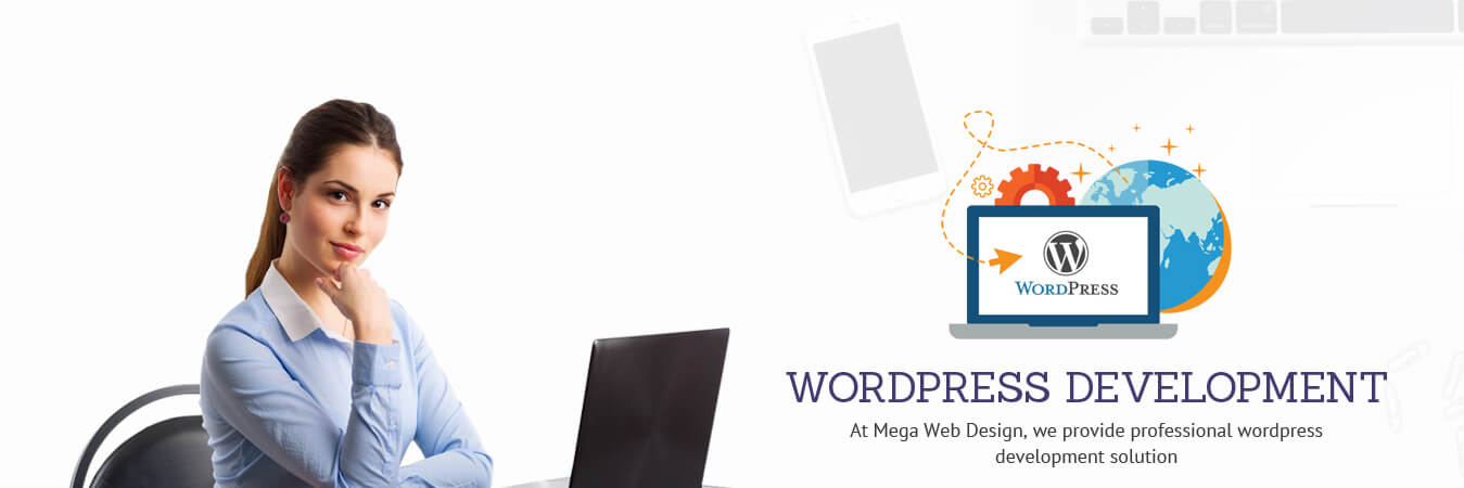 wordpress development banner